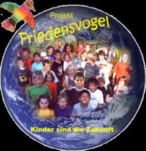 Bild: Logo des Friedenvogel-Projekts 'Kinder sind die Zukunft'