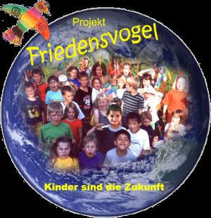 Abbildung: Logo des Projekts 'Friedensvogel - Kinder sind die Zukunft'
